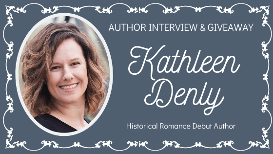 Kathleen Denly Giveaway and Interview