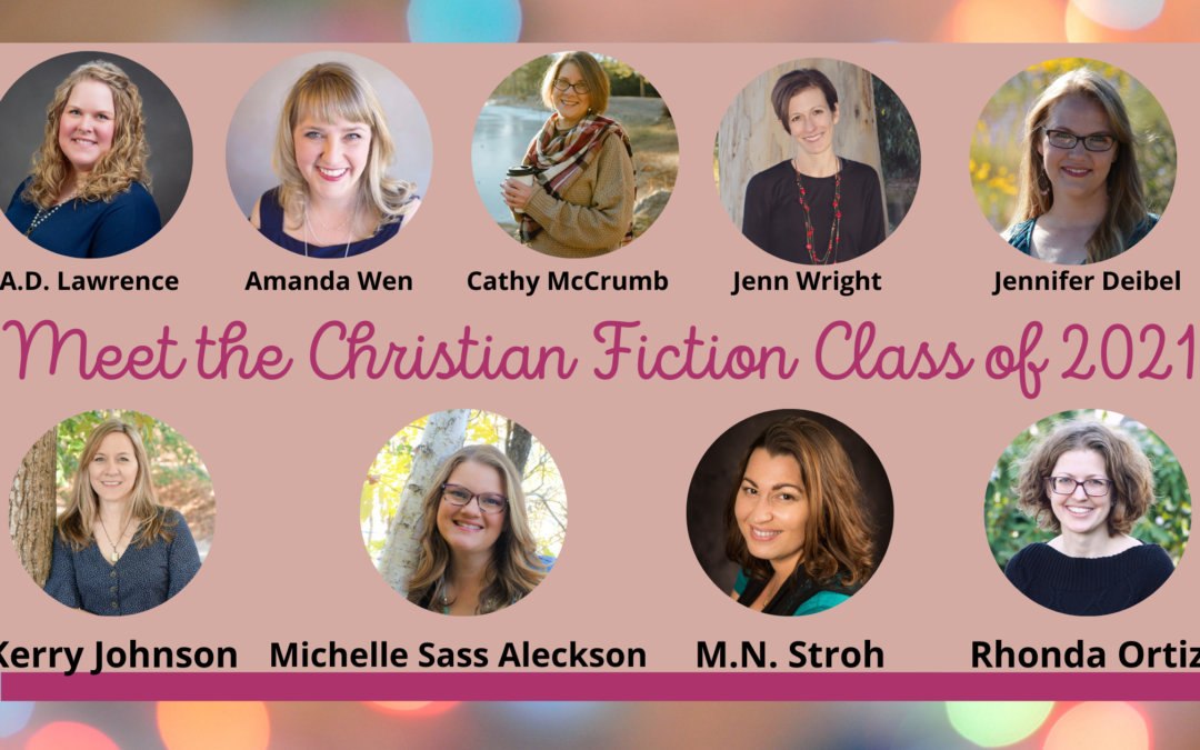 Meet the Christian Fiction Class of 2021