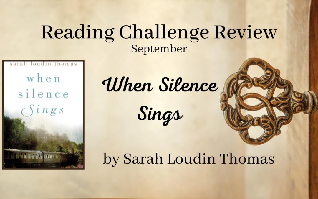 September RCR: When Silence Sings